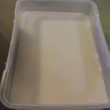 Runny yoghurt...
